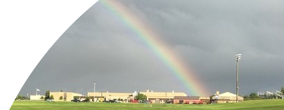 gallery image - Rainbow Over the School